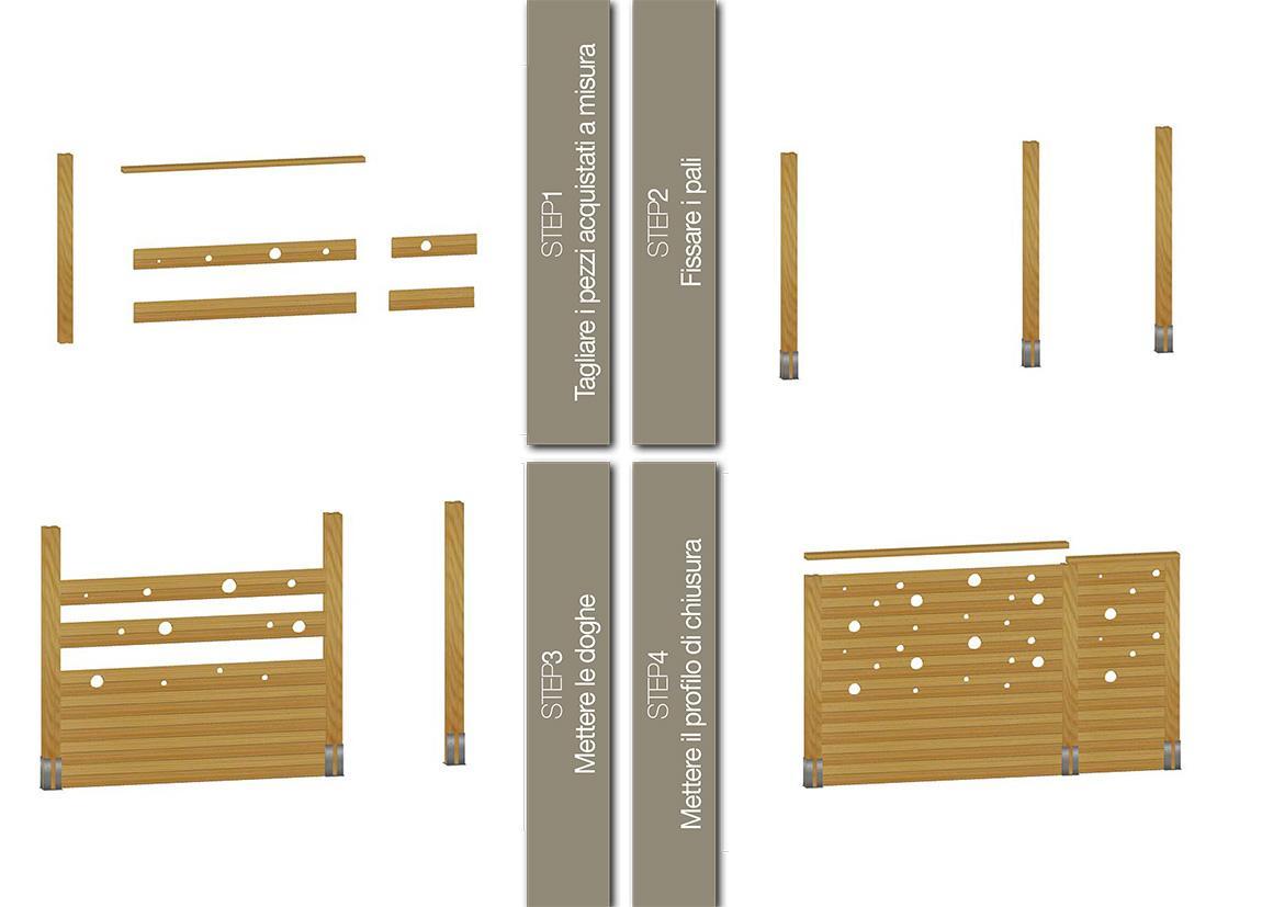 Divisori In Legno Per Interni divisori in legno per esterni